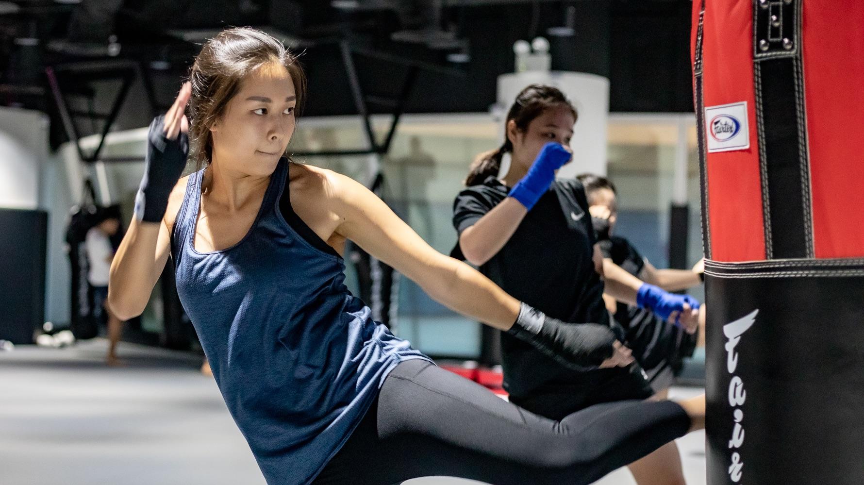 muay thai workout