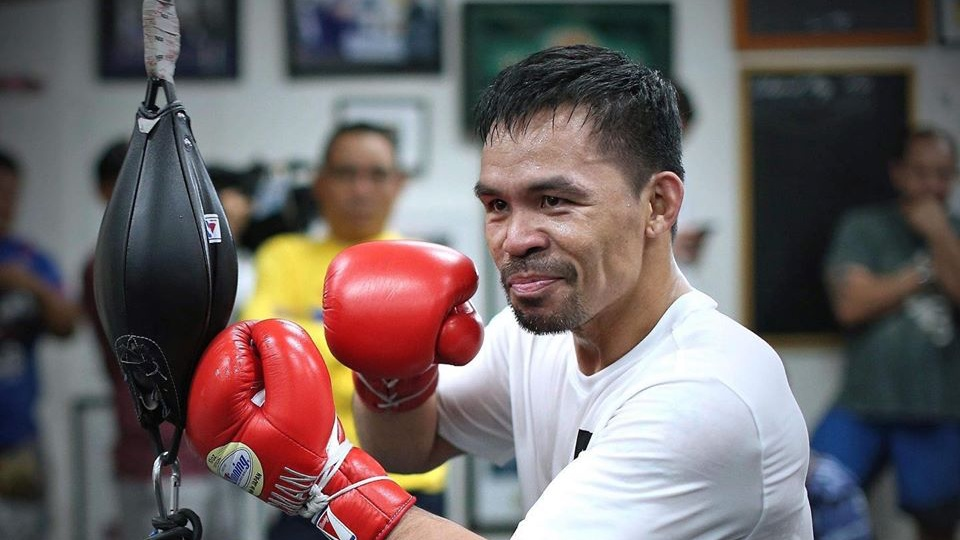 Pacquiao double end bag