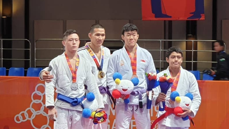 Paul Lim BJJ SEA Games