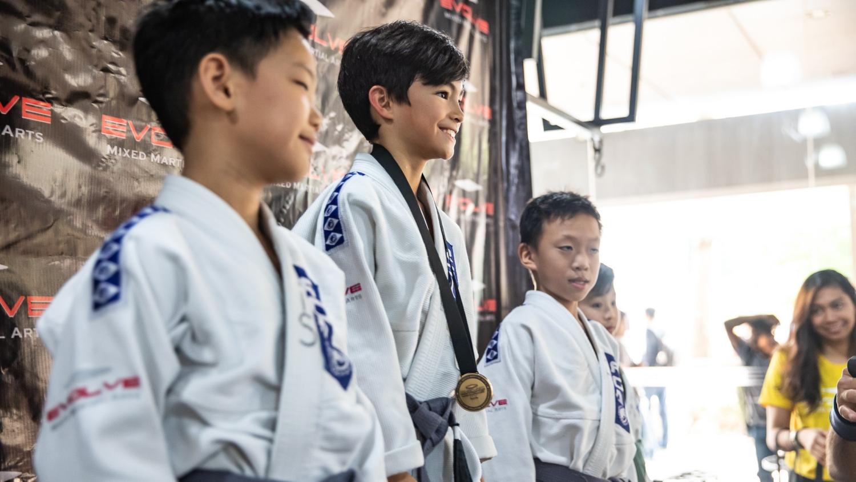 kids martial arts warrior spirit