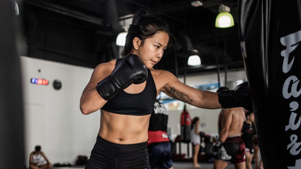 women's boxing gym