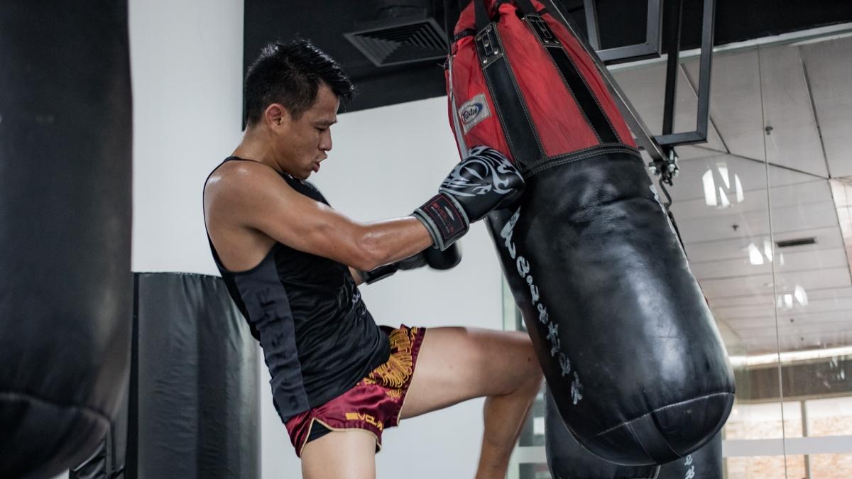 muay thai drills