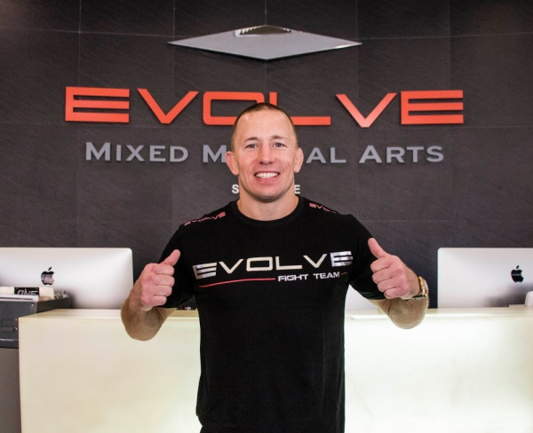 UFC Champion Georges St-Pierre