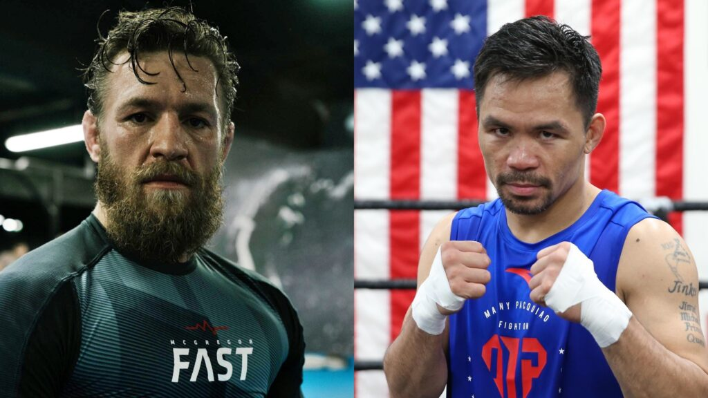 Here's What Will Happen When Conor McGregor Fights Manny Pacquiao