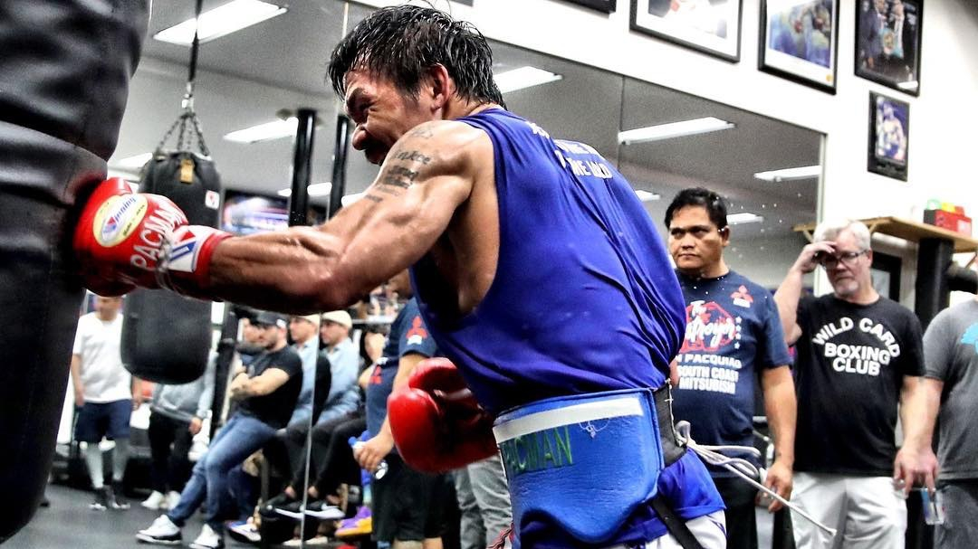 pacquiao boxing training