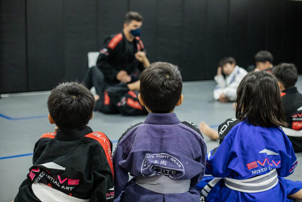 kids martial arts gym
