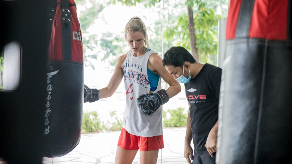 ask questions in muay thai class