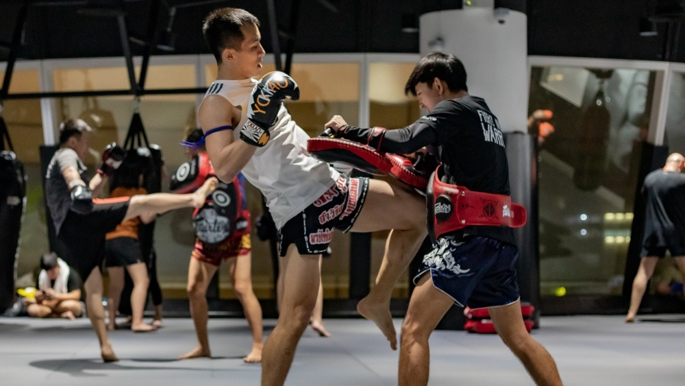 muay thai student knee pad