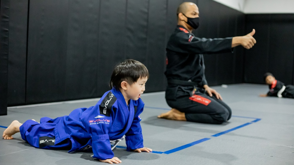BJJ keeps children bodies and minds healthy