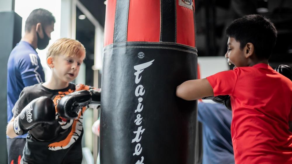 muay thai helps develop social skills for kids