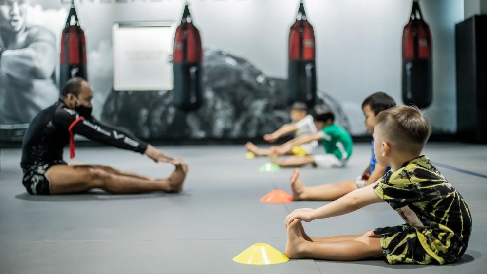 Muay Thai kids self-discipline