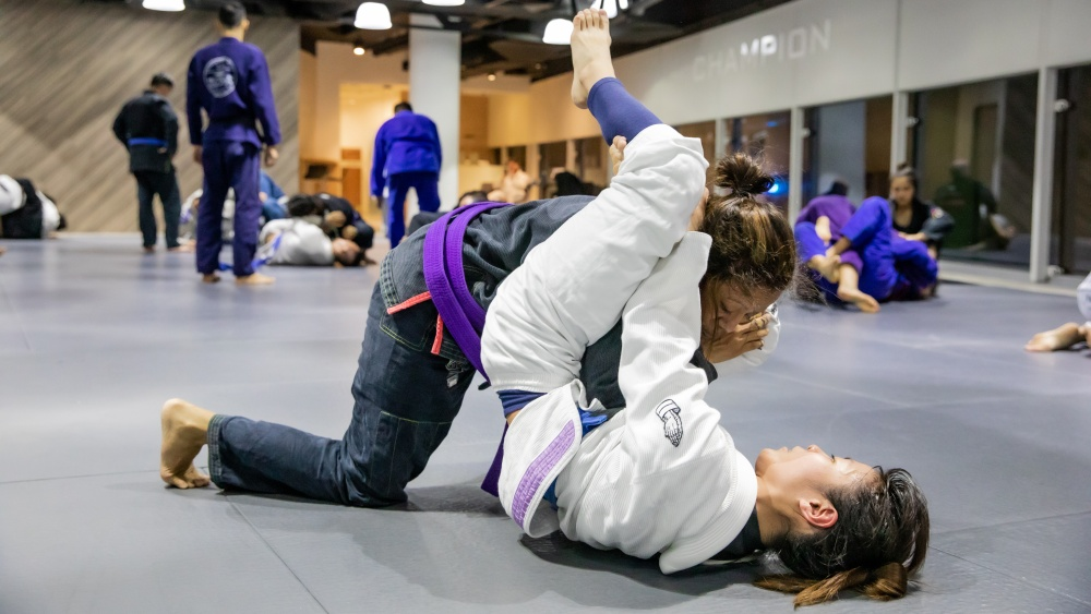 bjj rolling with partners