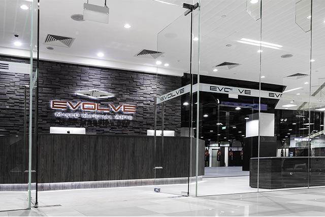 EVOLVE KINEX Reception Area