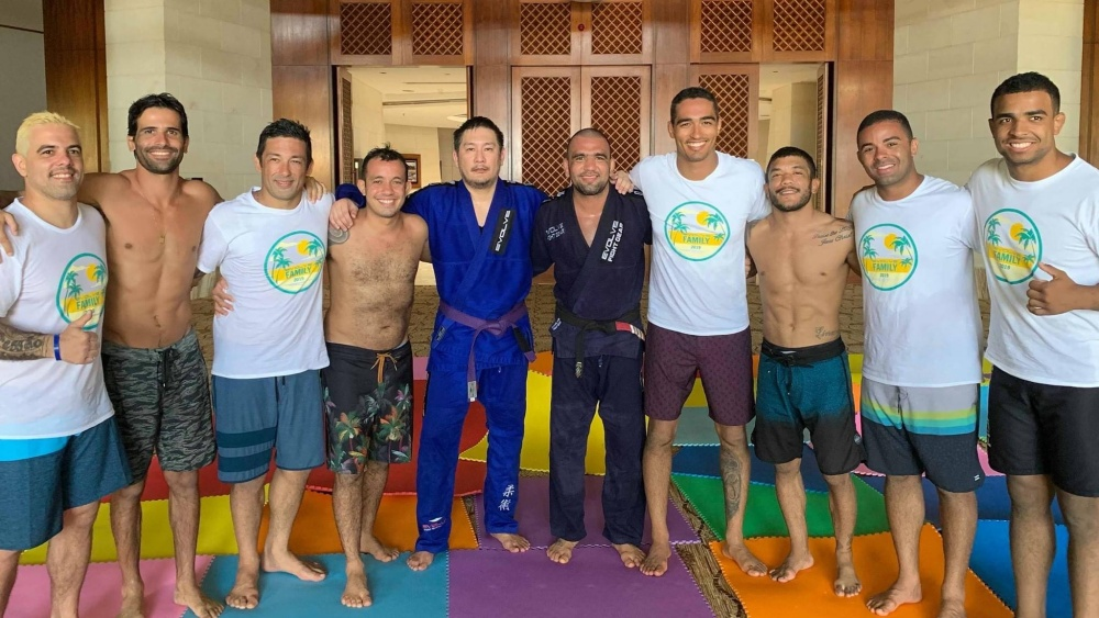 Chatri Sityodtong promoted to BJJ purple belt