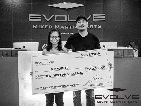 The Evolve Warrior Scholarship